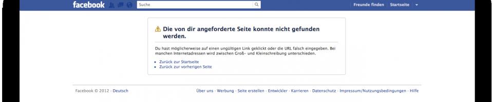 Das war es mit Facebook…
